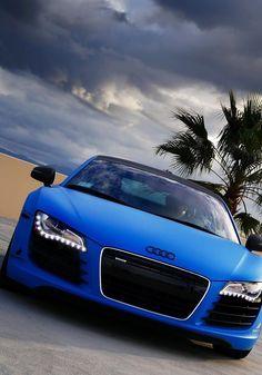 Matte Blue | Audi R8...