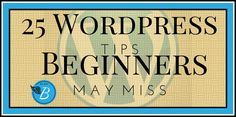 Extremely helpful blogging tips for wordpress blogs from fabulousblogging.com