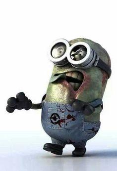 Haha zombie minion.
