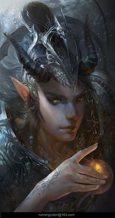 The Evil Sea God, Robin Ruan on ArtStation at https://www.artstation.com/artwork/Xa30L