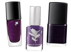 Get Ready for Fall with New Mani Colors - EGGPLANT from #InStyle