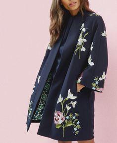 Spring Meadows kimono jacket