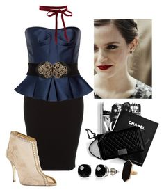 """""""Meeting Fury"""" by sixela14 ❤ liked on Polyvore featuring Burberry, Emma Watson, René Caovilla, Belk & Co. and Jaeger"""