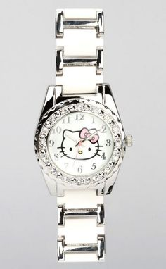 Hello Kitty watch with lovely links!