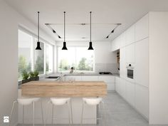 Kitchen Room Design, Home Room Design, Kitchen Cabinet Design, Kitchen Layout, Home Decor Kitchen, Kitchen Furniture, Kitchen Interior, New Kitchen, Home Interior Design
