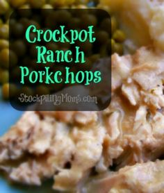 Crockpot Ranch Porkchops is going to be added to our monthly menu plan because it was so delicious and you only need 3 ingredients! It is the perfect easy dinner recipe! A must pin!