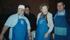 Paul Kirk   with Julia Child  BBQ Chef