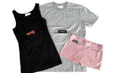 What Is It: Clever Travel Companion undergarments with built in zippered pockets to keep your valuables safe.  Price and Where to Buy: $24.90 for the underwear, $34.90 for the tank top at clevertravelcompanion.com.