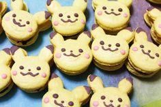 Pokemon macaroons: Pikachu