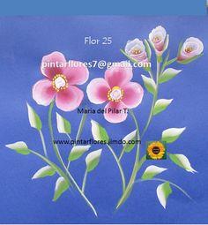 flores en videos paso a paso.     http://youtu.be/aNSDQsJbgtA