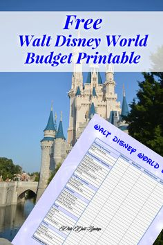 Begin your Walt Disney World Vacation planning with creating a budget. Grab this FREE and comprehensive Walt Disney World Budget printable! Disney World Packing, Disney World Vacation Planning, Orlando Vacation, Walt Disney World Vacations, Disney Planning, Disney Travel, Disney Bound, Orlando Florida, Vacation Ideas