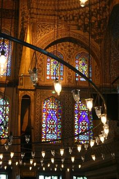 Blue Mosque, Istanbul, Turkey.  This is one of the most incredible places I have been in.