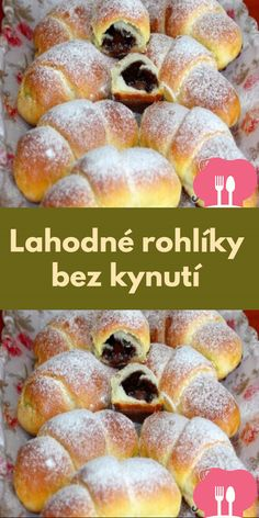 Czech Recipes, Croissant, Doughnut, Cereal, Food And Drink, Cooking, Breakfast, Bakken, Recipies