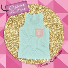 Like and pin for your chance to win this Aruba tank with a sherbert color pocket, along with all CrescentCorner.com #TrendyThursday items featured in May!