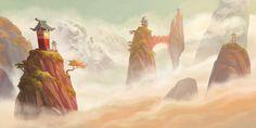 the art of mary shu: Game Environment Art
