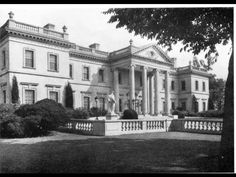 Whitemarsh Hall, Wyndmoor, Pennsylvania - Eva Stotesbury discovered, after the death of her husband in 1938, that she was relatively broke. Eva closed the mansion and moved to one of her other mansions, El Mirasol in Palm Beach, Florida.
