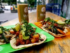 Delicious fresh tacos at Chaparro, Berlin - Berlin On A Budget: Our Slow Travel Guide