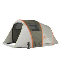 Kelty Mach 4 AirPitch Tent with Footprint Bundle  One Size Grey ** Visit the image link more details.