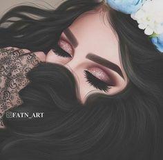 Girl Cartoon Characters, Cartoon Art, Girly M Instagram, Lovely Girl Image, Mother Art, Cute Love Cartoons, Pop Art Girl, Cute Girl Drawing, Girly Drawings