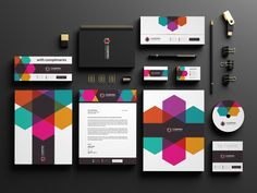 Media Stationery Design. Work by: Xnorpix #stationery #graphicdesign #graphicdesigners