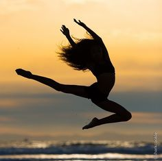 sunset dance picture