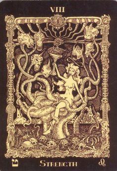 The Book of Azathoth Tarot deck