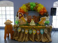 "Photo 1 of 38: Baby Lion King / Baby Shower/Sip & See ""Baby Lion King"" 