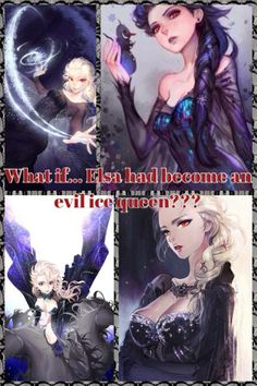 Did you know Elsa was supposed to be an evil queen. She was based on the Ice Queen