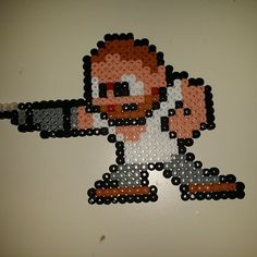 Merle Dixon The Walking Dead hama beads by alessialilla