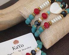 Etsy Handmade, Handmade Jewelry, Handmade Items, Unique Jewelry, Handmade Gifts, Mom Fashion, Bohemian Fashion, Jewelry Model, Jewelry Shop