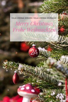 Merry christmas - greetings to everyone from VILLA VIENNA.  Frohe Weihnachten und wunderbare Feiertage wünscht VILLA VIENNA.