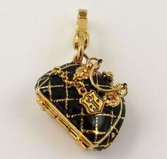 Juicy Couture Quilted Bag Charm :)