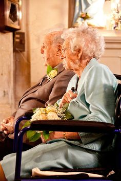 Renewing wedding vows after 66 years! Inspirational!
