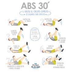 #Fitness #workout ¡Prepárate para lucir tableta este verano! Sigue esta rutina…