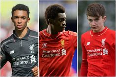 Alexander-Arnold Ejaria & Woodburn to join Liverpool U23s average age of 19 targeted