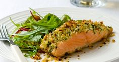 This quick and easy dinner for two is the perfect recipe to fall back on midweek when you're short of time and energy. It's a great way to pep-up salmon filets.