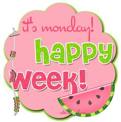 It's Monday! days monday days of the week weekdays happy monday happy week monday graphic good week Good Monday Morning, Good Morning Good Night, Happy Monday, It's Monday, Mondays, Manic Monday, Happy Weekend, Wednesday, Tuesday