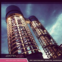 #spaceobservatory #alucobondpanels #extravegafacade #extraordinary #extravega