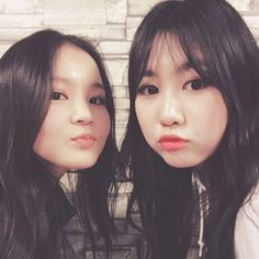 Lee Hi and Park Jimin