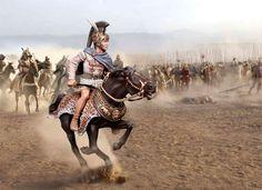 Александр Македонский, битва при Гавгамелах, 331 год до н.э.  PB227, М1:30.
