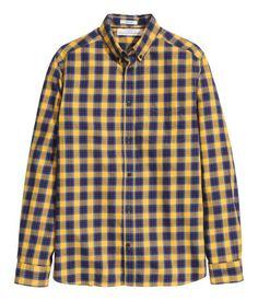 X-Future Mens Plaid Print Long Sleeve Casual Loose Fit Cotton Button Up Dress Shirt