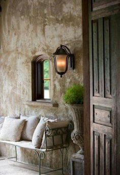 french country decor for the home greenery French Country Cottage, French Country Style, French Farmhouse, Rustic Farmhouse, Rustic French, Shabby Cottage, Spanish Style, Cottage Chic, Country Life