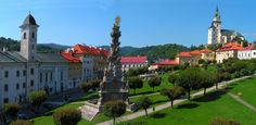 Main Square, Kremnica, one of the oldest Mints in the world