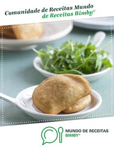 Rissóis de camarão de Equipa Bimby. Receita Bimby<sup>®</sup> na categoria Pratos principais Peixe do www.mundodereceitasbimby.com.pt, A Comunidade de Receitas Bimby<sup>®</sup>. Easy Cooking, Baked Potato, Hamburger, Potatoes, Bread, Baking, Ethnic Recipes, Food, Main Courses