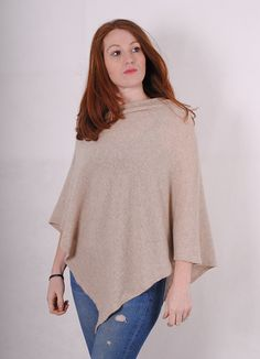 For ultimate luxury this season, this is the one accessory you will wear time after time. Made from the finest Scottish 100% cashmere available in an array of colours this poncho can be worn in two ways. It looks and feels fantastic and can be worn in all seasons.