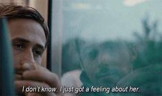 I just got a feeling....