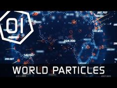 Earth Hologram Tutorial Part 1 - World Map Particles - Cinema 4D - YouTube