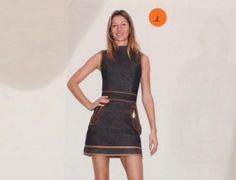 Gisele Bündchen no SPFW: um preview do look da top para a Colcci