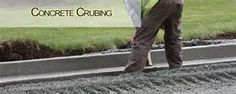 Curbing is used to differentiate parking areas from roadways, sidewalks, and landscaping as well as controlling the flow of water from the parking area to the storm drain system. Sidewalk Repair, Concrete Curbing, Concrete Contractor, Heavy Machinery, Concrete Projects, Stamped Concrete, Sidewalks, How To Remove, Trees