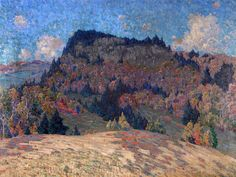 """""""Vermont Landscape,"""" Gustave Cimiotti, oil on canvas, 40 x 50"""", private collection."""